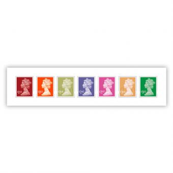 2020 Definitives - Machin Definitives Stamp Set