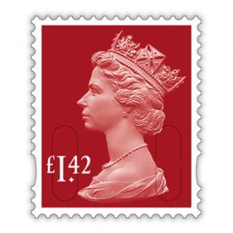 2020 Definitives - Machin Definitive Mint Stamp £1.42