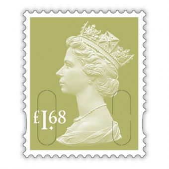 2020 Definitives - Machin Definitive Mint Stamp £1.68