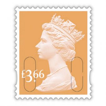 2020 Definitives - Machin Definitive Mint Stamp £3.66