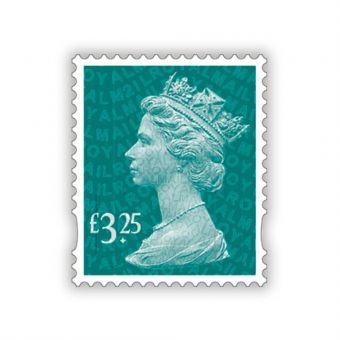 2021 Machin Definitives Full Sheet £3.25 x 25
