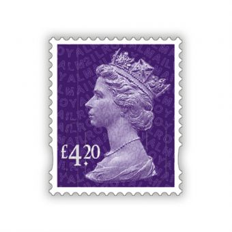 2021 Machin Definitives Full Sheet £4.20 x 25