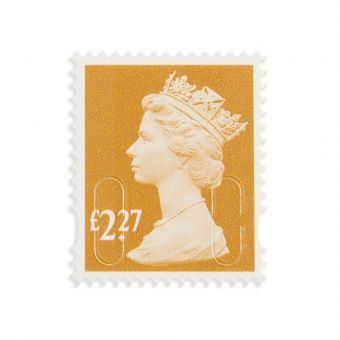 Royal Mail New Definitives 2017 Machin Definitive Mint Stamp Harvest Gold 2.27 1