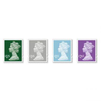 Machin Definitive 2018 Stamp Set