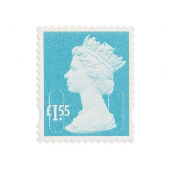 Royal Mail Machin Definitive 2018 Mint Stamp_marine Turquoise 1.55 1