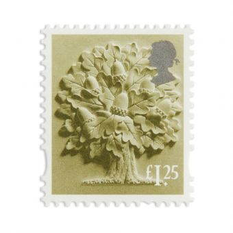 Es018 England Country Definitive 1.25 Stamp