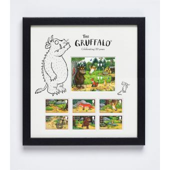 The Gruffalo Framed Stamps & Miniature Sheet