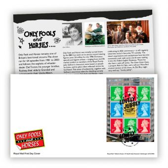 Only Fools and Horses First Day Cover PSB Pane (Tallents House Postmark)