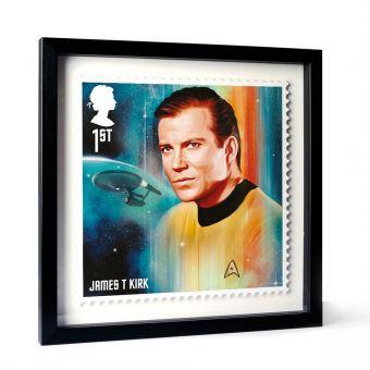 Star Trek Framed Enlarged Print - Kirk