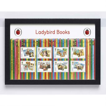 Ladybird Books Framed Stamps