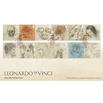 Leonardo da Vinci First Day Envelope
