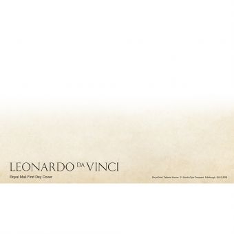 Leonardo da Vinci Prestige Stamp Book First Day Cover