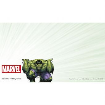 Royal Mail MARVEL First Day Envelope Hulk