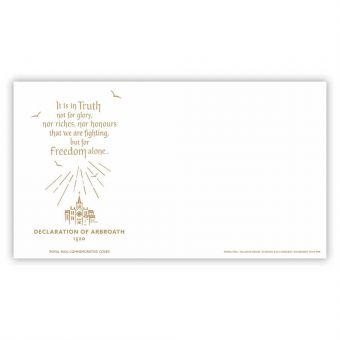 Declaration of Arbroath Envelope
