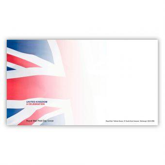 United Kingdom: A Celebration Miniature Sheet First Day Envelope