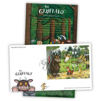 The Gruffalo First Day Cover - Stamp Sheet