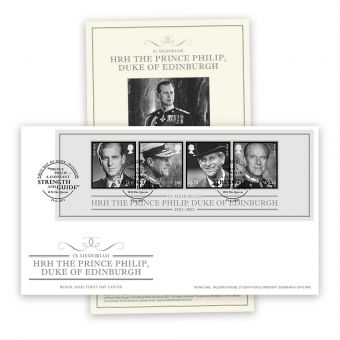 In Memoriam, HRH The Duke of Edinburgh First Day Cover with Windsor Postmark