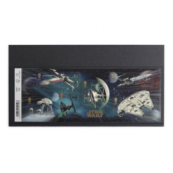 Royal Mail Star Wars 2015 Stamp Sheet