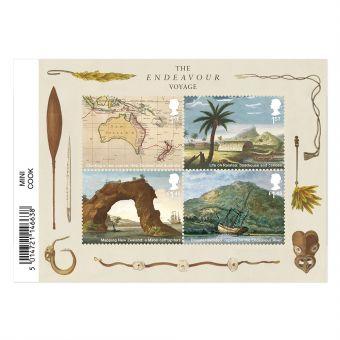 Captain Cook Miniature Sheet