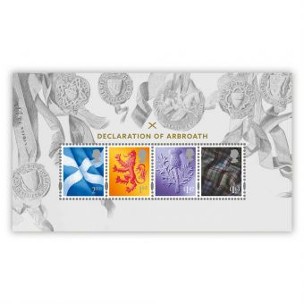 Declaration of Arbroath Miniature Sheet