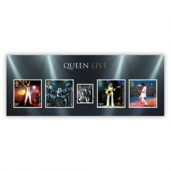 Queen Miniature Sheet