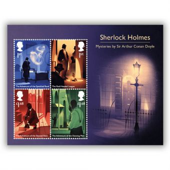 Sherlock Miniature Sheet