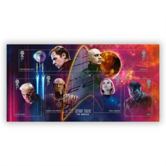 Star Trek Movies Stamp Sheet