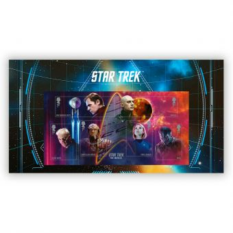 Star Trek Movies Stamp Sheet Set