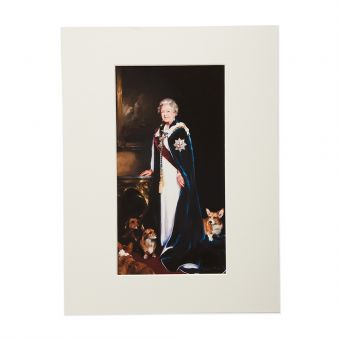 N3047 Royal Mail Print Her Majesty The Queen 1