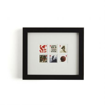 N3072 Royal Mail Framed First World War 1915 Stamp Set 1