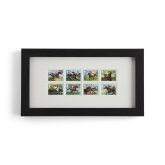 N3094 Royal Mail Racehorse Legends Framed Stamps