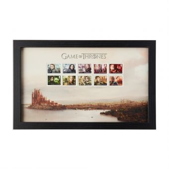N3115 Royal Mail Game Of Thrones Framed Stamps