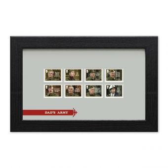 Dad's Army Framed Stamp Set