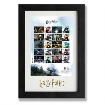 N3154 Harry Potter Framed Collector Sheet