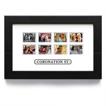 Coronation Street Framed Stamps