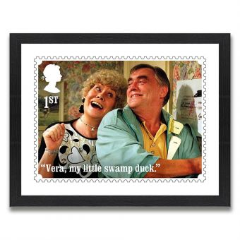 Coronation Street Enlarged Print: Jack and Vera