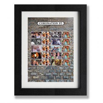 Coronation Street Framed Collector's Sheet