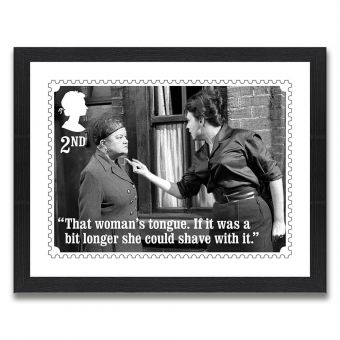 Coronation Street Enlarged Print: Ena and Elsie