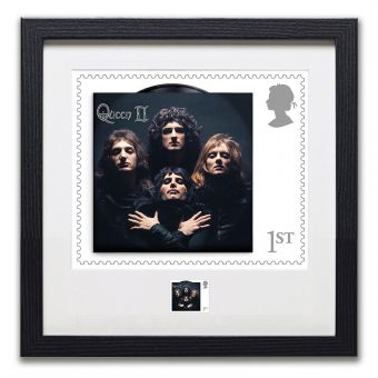 Framed Bohemian Rhapsody Print Enlargement and Stamp