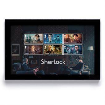 Sherlock Framed Stamps