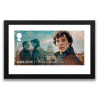 Sherlock: The Reichenbach Fall Framed Gallery Print