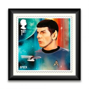 Star Trek Framed Enlarged Print - Spock