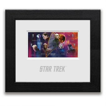 Star Trek Framed Miniature Sheet