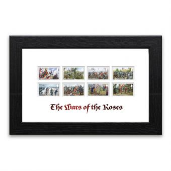 The Wars of the Roses Framed Stamps