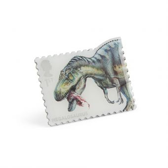 Nb147 Royal Mail Pin Badge Dinosaurs Megalosaurus 1