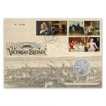 Queen Victoria Bicentenary Brilliant Uncirculated £5 Coin Cover