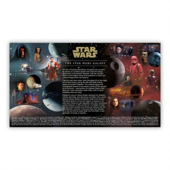 STAR WARS™ 2019 Stamps First Day Cover (Tallents House)