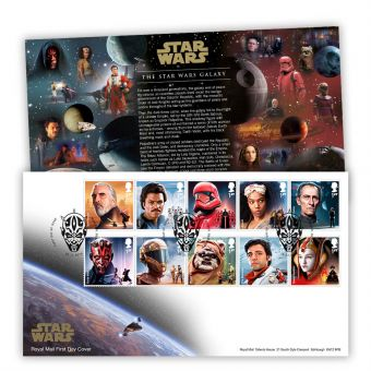 STAR WARS™ 2019 Stamps First Day Cover (Maulden, Bedford)