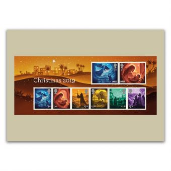 Christmas 2019 Pack of 9 Postcards