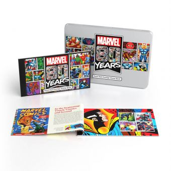 Marvel 80th Anniversary Limited Edition Prestige Stamp Book
